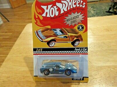 Hot Wheels FORD J-CAR 2010 RLC Neo-Classics Series 9 Spectraflame Powder Blue