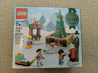 Lego Seasonal Holiday set - 40263 - CHRISTMAS TOWN SQUARE - New and Sealed -2017
