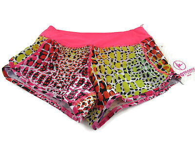 90 Degree by Reflex Pop Animal Printed Flash Mode Girl's Shorts Medium (10) New
