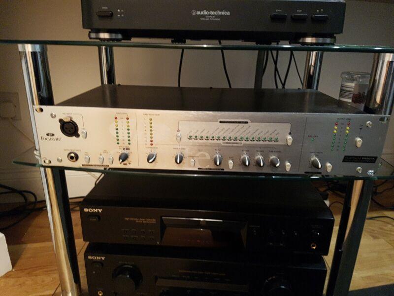 Focusrite Audio Platinum Penta Preset Stereo Compressor Preamp & Box.UK postage