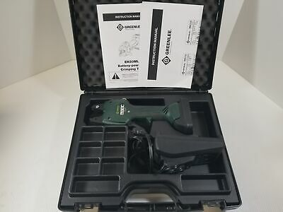 Greenlee Ek50ml120 Li-ion Battery Powered Crimping Tool 10.8v