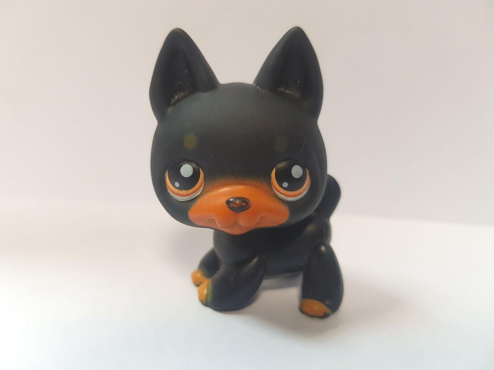 Figurine petshop original chien dog berger allemand 92  pet shop lps