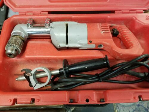 """Milwaukee 1107-1 1/2"""" Right Angle Drill *with case*"""