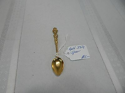 Vintage! Gold Italy Spoon