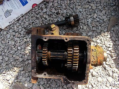 Allis Chalmers Wc Tractor Ac Transmission W Gears Case Input Drive Shaft