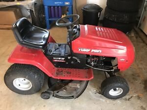 Turf Pro Riding Lawn Mower