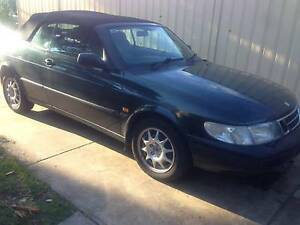 1994 Saab 900 Convertible S 2.3i Green 2 dr Air Con Leather Seats West Lakes Charles Sturt Area Preview