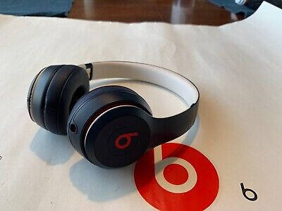 beats By Dr Dre solo 3 wireless club Collection On Ear Headphones Club Navy Blue