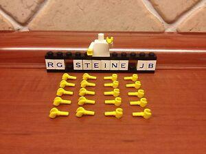 Lego® 20x Hände Hand gelb Figuren Figur Minifigs Sammlung Konvolut Neu H01