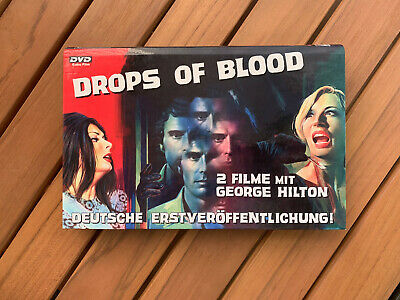 RARE DOUBLE-MOVIE German DVD DROPS of BLOOD/ CASE BLOODY IRIS + SCORPION'S TAIL