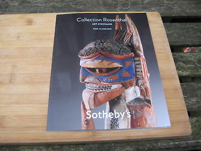 SOTHEBY'S CATALOGUE PARIS COLLECTION ROSENTHAL ART D'OCEANIE