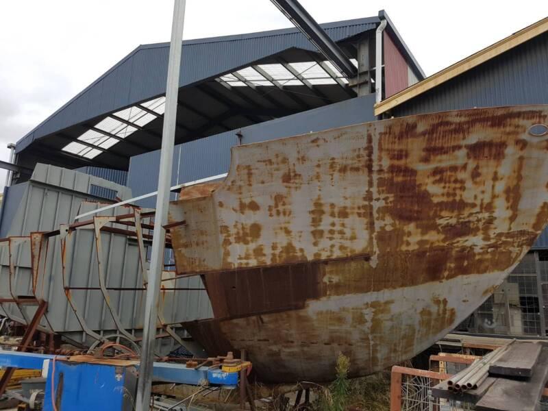 40 ft. Steel Motor Sailer Yacht - Tarwhine