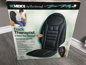 Seat back massager with heat brand new