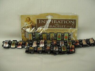 Inspiration Genuine Hematite Bracelet (Lot of 4 Genuine Hematite Magnetic Inspiration Bracelets - FREE)