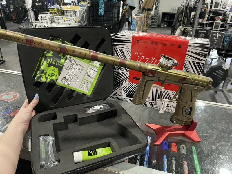 PLANET ECLIPSE GTEK 170R PAINTBALL GUN - UK PREDATOR