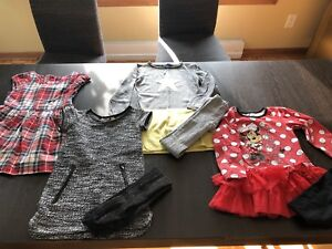 8 robes 4 ans automne/hiver