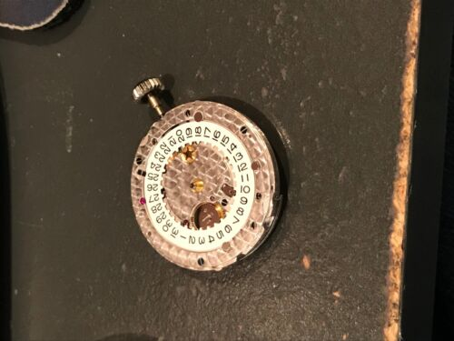 Rolex Genuine 3135 Caliber Movement For Parts Or Project Running - Amazing Find!