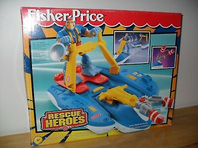 NEW SEALED FISHER PRICE RESCUE HEROES QUICK RESPONSE WATERCRAFT