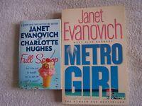 Janet Evanovich Metro Girl + Full Scoop - 2 Paperbacks - metro - ebay.co.uk