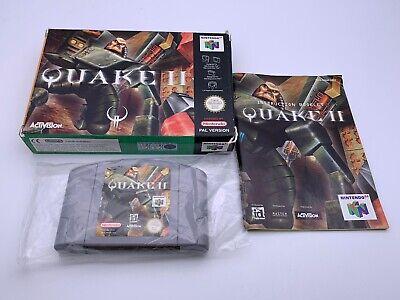 Nintendo 64 Quake 2 N64 Manual Incluido Pal
