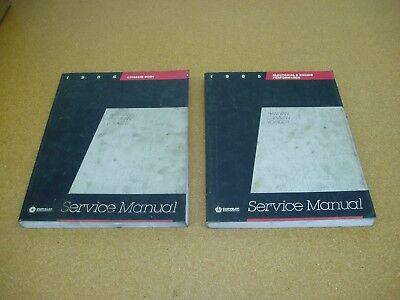 1985 Dodge Caravan Ram Van Plymouth Voyager minivan service shop repair manual