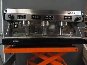 Black Wega Polaris Coffee Machine 3 Group Brunswick East Moreland Area Preview