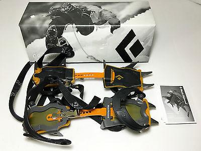 NEW!! Black Diamond Contact Strap Crampons - Glacier, Alpine!!! - Retails $130