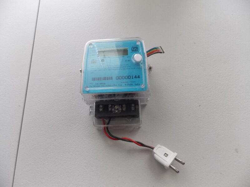 PAL MOHAN ELECTRONICS SINGLE PHASE METER PM101