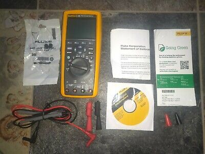 New Fluke 289 Trms Multimeter Calibrated Leads Mint Condition Free Shipping