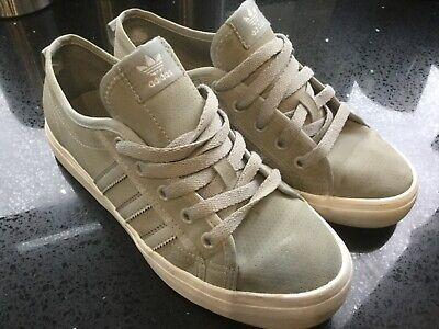 Adidas Originals Nizza  (UK Sizes: 5 ) light grey