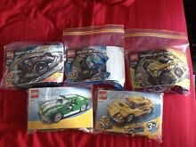 Various Lego racers sets New Lambton Heights Newcastle Area Preview