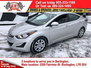 2015 Hyundai Elantra GL, Automatic, Heated Seats, Bluetooth