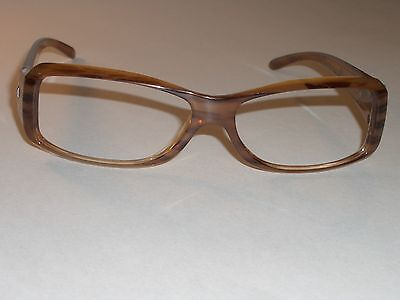 RAY BAN ITALY RB4078 SLEEK WOODEN GRAIN SHADE SUNGLASSES/EYEGLASS FRAMES ONLY