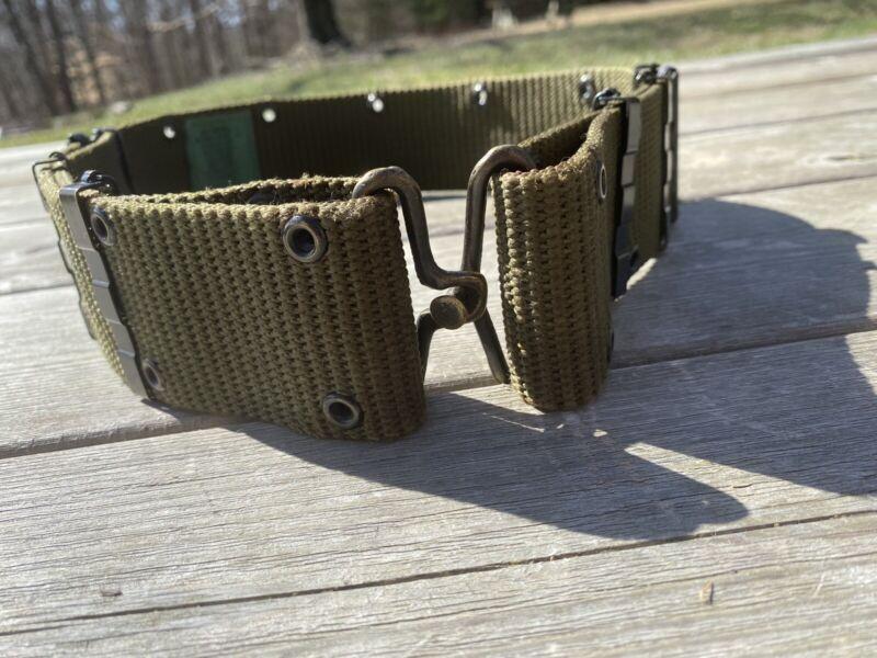 USGI Military Surplus Combat Pistol Belt Vintage Style  (Medium)