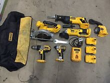 Dewalt 18v drill and saw 6 tool combo Albion Park Rail Shellharbour Area Preview