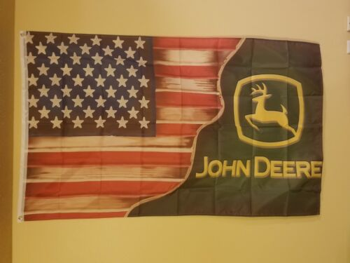 American John Deere 3 x 5 Flag #44