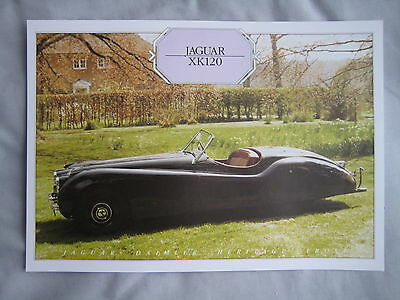1953 Jaguar XK120 Specification Sheet