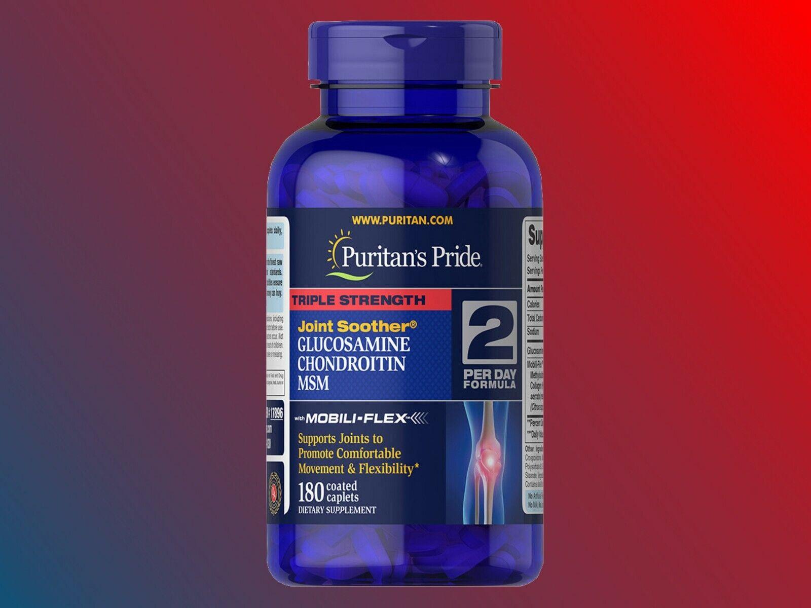 Puritan's Pride Triple Strength Glucosamine Chondroitin & MS