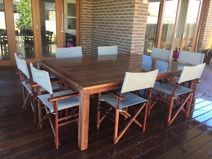 dining outdoor dining furniture gumtree australia melbourne city