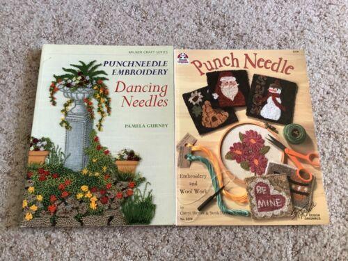 Punchneedle Embroidery Dancing Needles Pamela Gurney & Punch Needle CRAFT BOOKS