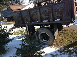 Dump trailer for sale or trade