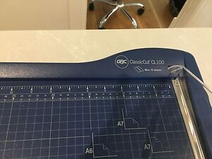 Guillotone Paper Cutter Claremont Nedlands Area Preview