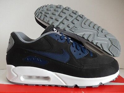 NIKE AIR MAX 90 ID BLACK-NAVY BLUE-WHITE SZ 11