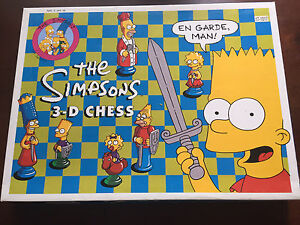 The Simpsons Chess