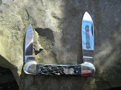 OLD THREE EYE VINTAGE SOLINGEN GERMAN EYE CANOE KNIFE