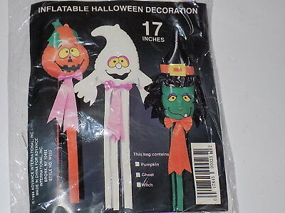 1994 VTG Halloween Inflatable Ghost Hanging Party Decorations Yard Decorations (Inflatable Halloween Decorations Yard)