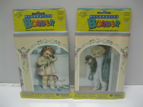 Borden Decorative Wallpaper Border Nursery Playroom children Baby 2-pack 10yd