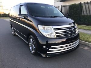 2009 Nissan Elgrand Rider S 6 months Rego & 12 month warranty included Meadowbrook Logan Area Preview