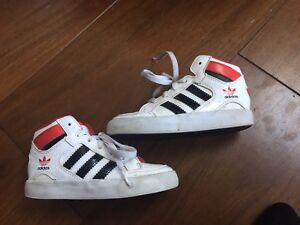 Adidas High Top Running Shoes-Toddler size 8