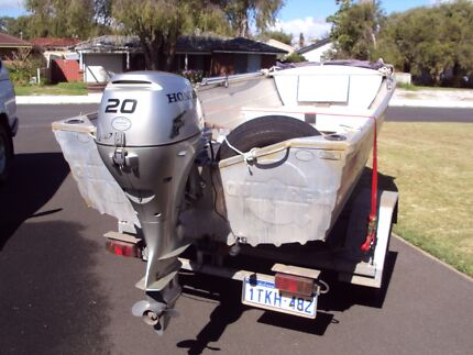 Dinghy 12 ft (3.77 m) with 20 hp 4 stroke Honda motor Busselton Busselton Area Preview